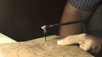 Tutorial de llavero de madera