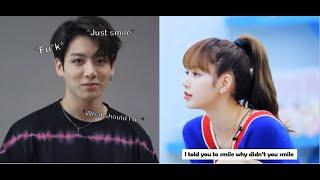 Bts Jungkook and Blackpink Lisa Tik Tok that Fan made Part 1