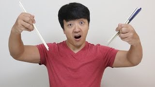 Chopsticks: Chinese VS. Japanese VS. Korean