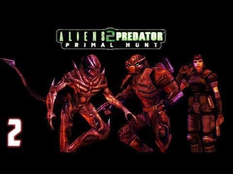Aliens vs. Predator 2: Primal Hunt - Predalien Walkthrough Part 2 - The Artifact  