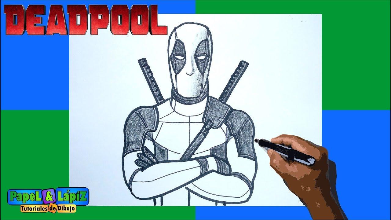 Aprende A Dibujar A Deadpool Paso A Paso