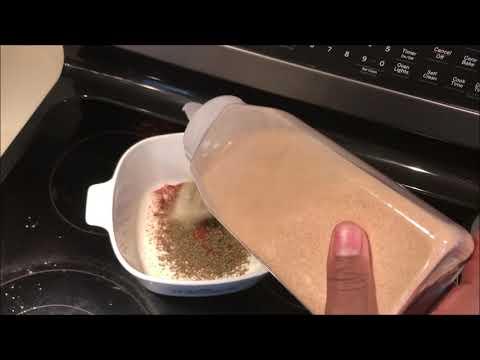 Dry Rub For Deep Fried Turkey