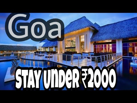 BEST PLACES TO STAY IN GOA