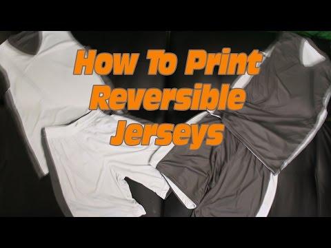 Printing Basketball Jerseys: How to Print T-shirts