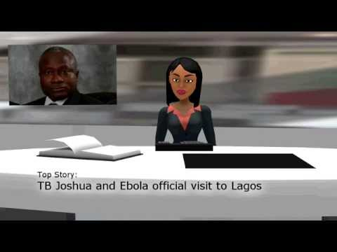 TB Joshua and Ebola Official Visit to Lagos