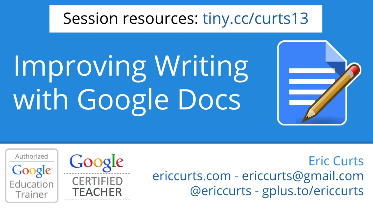 improving the writing process google docs