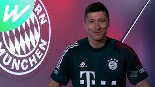 "Record-chasing Robert Lewandowski hungry for ""many years"" of titles 