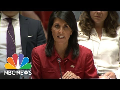 Nikki Haley Condemns North Korea's 'Reckless And Irresponsible' Missile Launch | NBC News