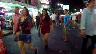 The Khao San Road, BANGKOK Wild & Crazy Night Scene
