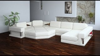 Sectional Sofa White