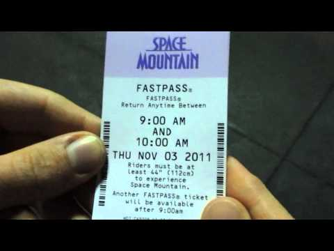 How to Use Disney's Fastpass System