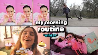 MY MORNING ROUTINE (winter) ❄️ - by Charlotte M.
