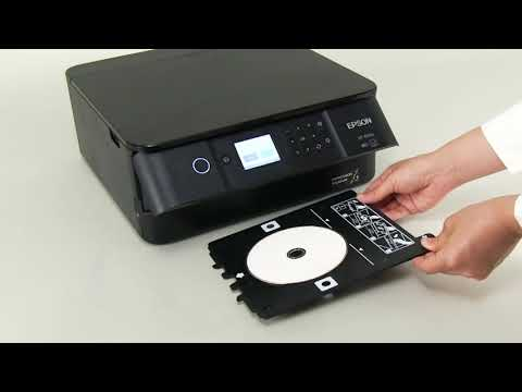 How to Copy CD/DVD Labels (Epson XP-6100,XP-6000) NPD5887