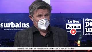 FPU LIVE - Construction en Ile-de-France : vers un choc de la pénurie d'offre ?