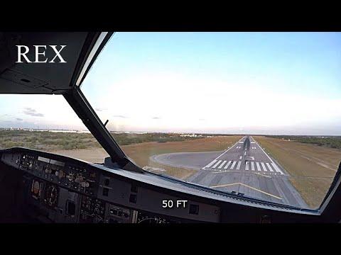 Aterrizaje en Pista