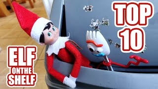 ... our elf on the shelf has been making tik toks all over christmas. luck for us we ca...