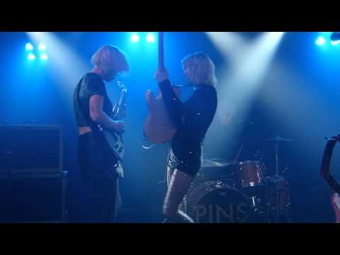 Pins - Too Little Too Late live O2 Academy, Liverpool 16-02-16
