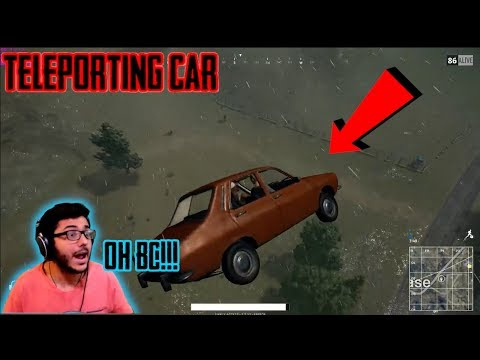 HACKER vs CARRY | TELEPORTING CAR AND AUTO AIM | PUBGM Highlight