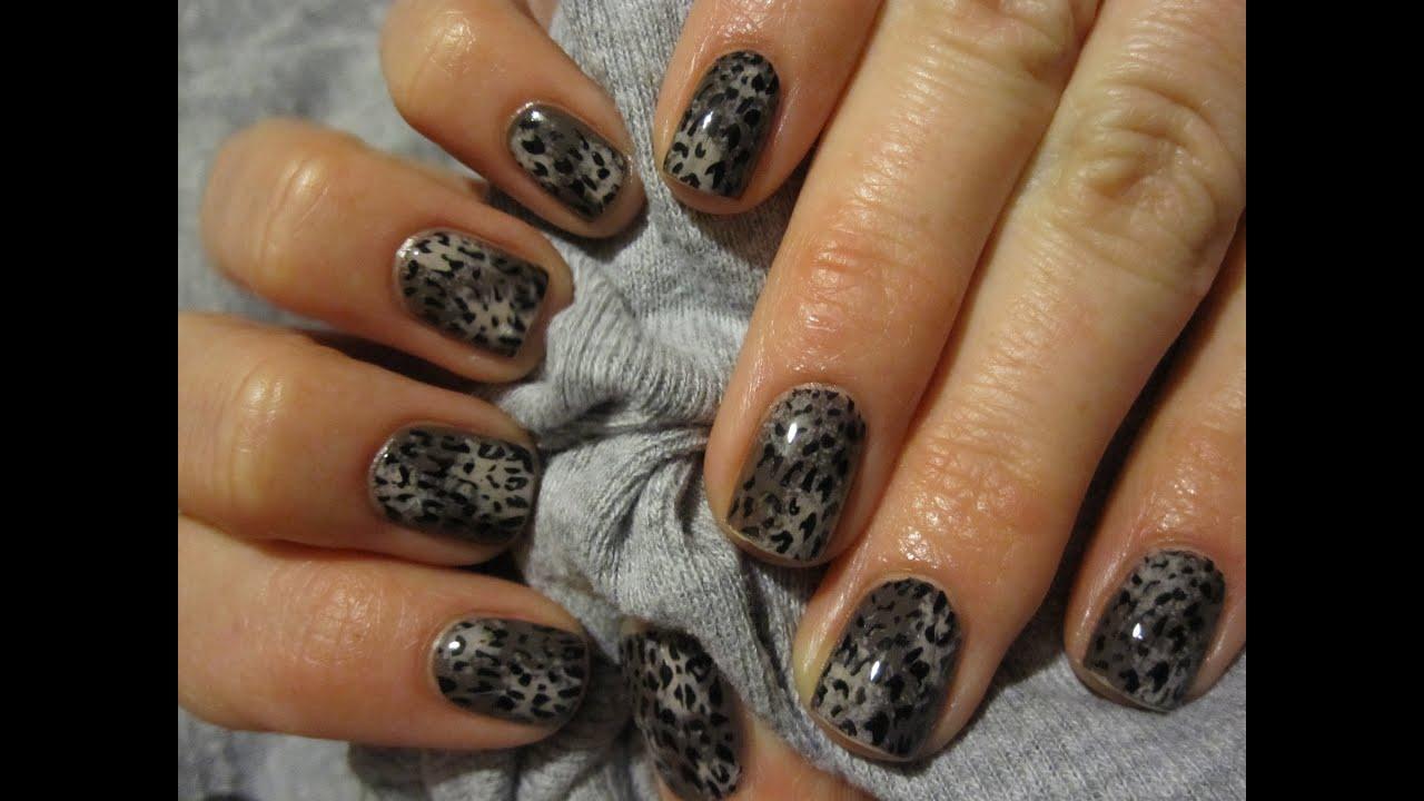 Panterka Tutorial Wzorek Na Paznokcie Leopard Print Nail Art