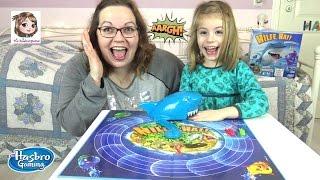 HILFE, HAI ! Rette den kleinen Fisch vor dem bösen Hai 🐠 Aktionsspiel | Hasbro Gaming