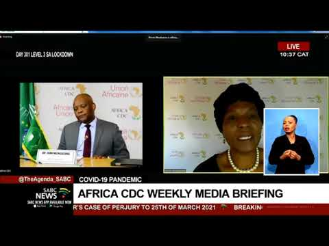 COVID-19 Pandemic | Africa CDC weekly media briefing