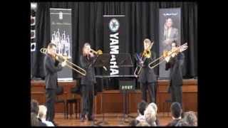 Loud Noisy  People trombone quartet. MIFB 2010
