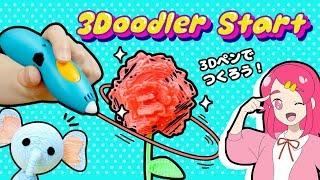 母の日 !! 3Doodler startを使って、お母さんのためにプレゼント作ってみた! 手作り 小物 工作 DIY アンリルちゃんねる