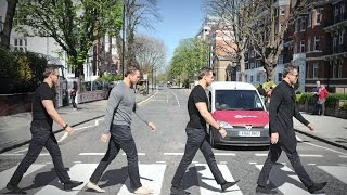 The Miz goes sightseeing in London