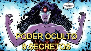 EL PODER OCULTO DE WONDER WOMAN - 8 secretos de la mujer maravilla