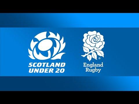 LIVE U20's Six Nations   Scotland V England