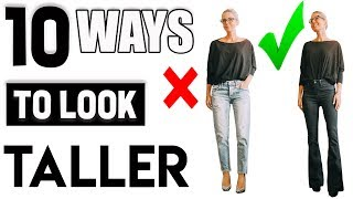 10 Tips to Help You Look Taller if You are Petite