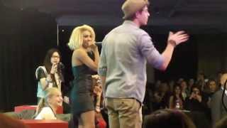 Kat Graham dance with Nathaniel Buzolic