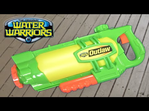 Water Warriors Air Pressure Outlaw Water Blaster from Buzz Bee Toys