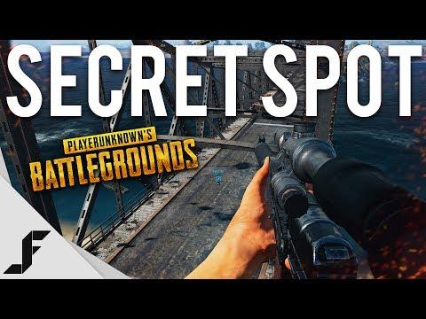 SECRET HIDING SPOT - Battlegrounds