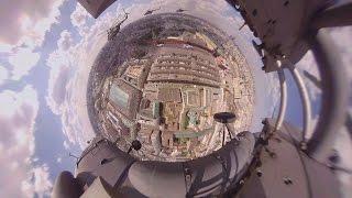 Видео 360: Вертолет МИ-8АМТШ на пути к Красной площади(Сегодня Россия отмечает 71-ю годовщину Победы в Великой Отечественной войне — памятные мероприятия пройдут..., 2016-05-09T08:03:23.000Z)