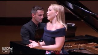Heather Phillips, soprano sings Rachmaninoff