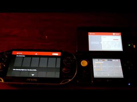Vita vs 3DS  Netflix Comparison