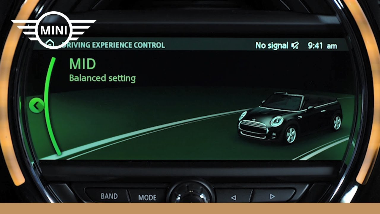 MINI USA | Driving Modes - YouTube