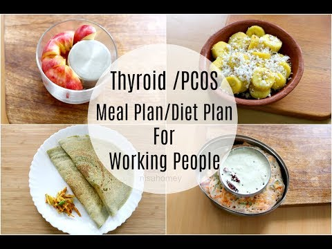 Thyroid | Pcos Meal Plan For Working People / Office Goers Diet Plan To Lose Weight Fast 5 kgs