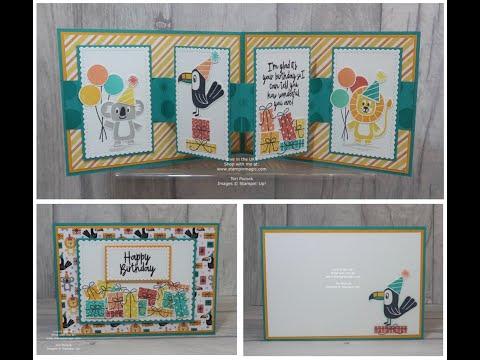 Bonanza Buddies - Pop Out Panel Card