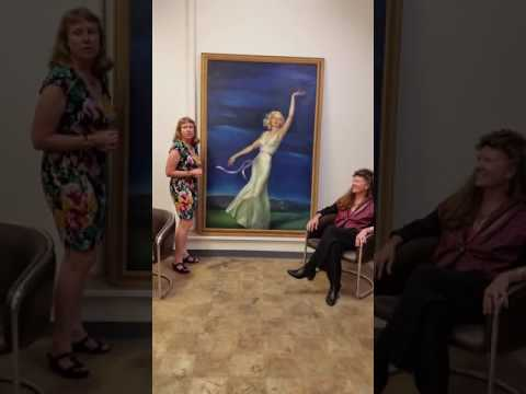 Anne & Trish Discover long-lost Jean Harlow painting Farewell to Earth!