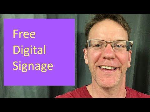 Free Digital Signage 2019