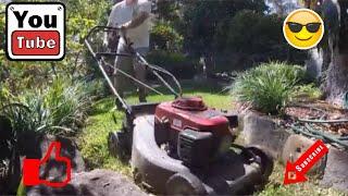 Lawn Mower + Mulch Kit