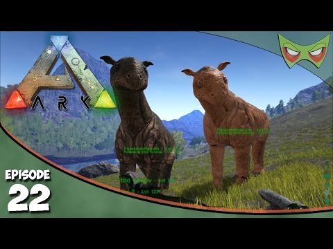 Ark Survival Evolved - S2 Ep 22 - Taming a Paraceratherium - Let