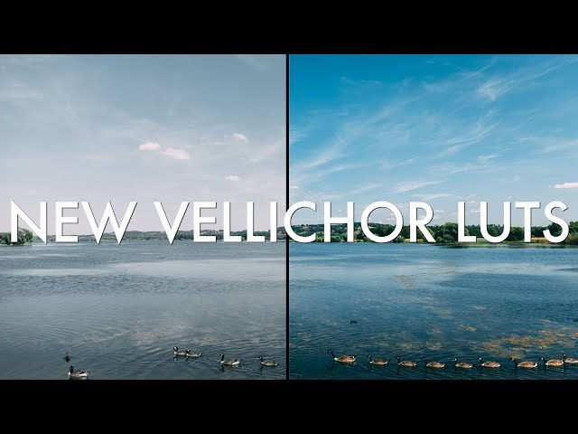 New LUTs from Vellichor!