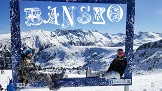 Bansko Ski Travel Video. Mountains.(Travel video - the experience in Pirin mountains of Bansko, Bulgaria. Bansko ski slopes, city and food review. Travelling with a two year old baby. In this video ..., 2016-03-18T13:23:35.000Z)