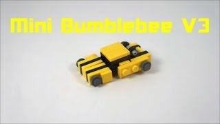 How To Build A Mini Lego Bumblebee V3