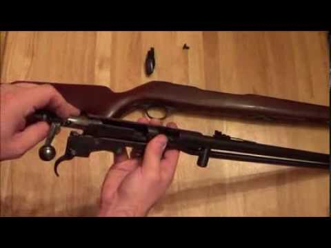Montgomery Wards Westernfield 22lr rifle disassembly