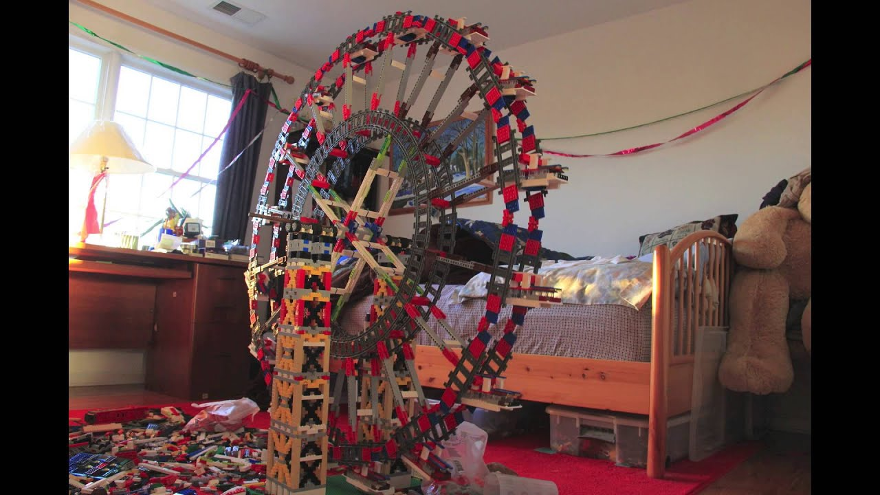 how to make a small ferris wheel