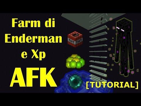 [PRIMA SU YT ITALIA] Farm di Enderman e Xp AFK TUTORIAL 1.11/1.12 [ITA]
